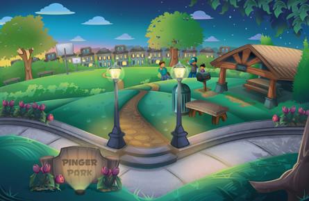 Conrad Saves Pinger Park By Carvin Winans